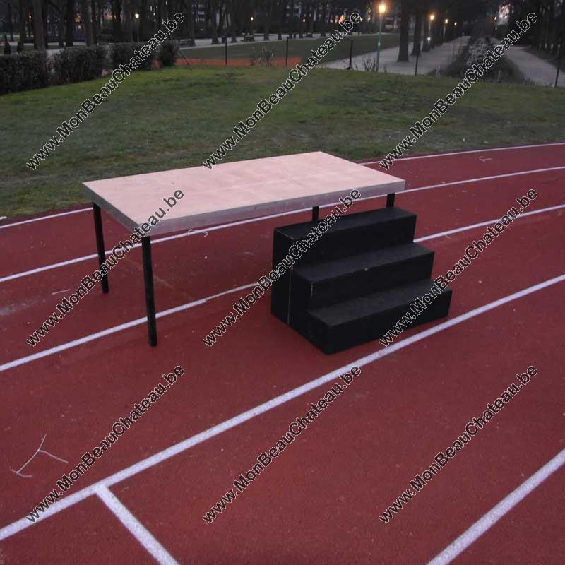 praticable podium scène