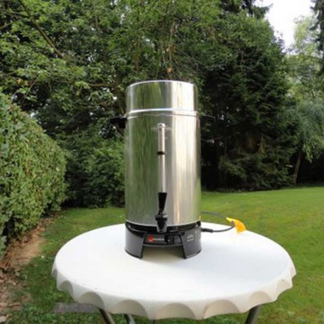 Location samovar machine a café