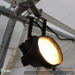 lumière pour tonnelle en option