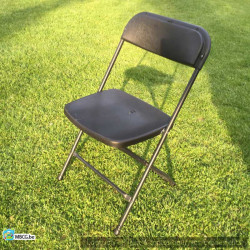 Chaise noire de mariage -...