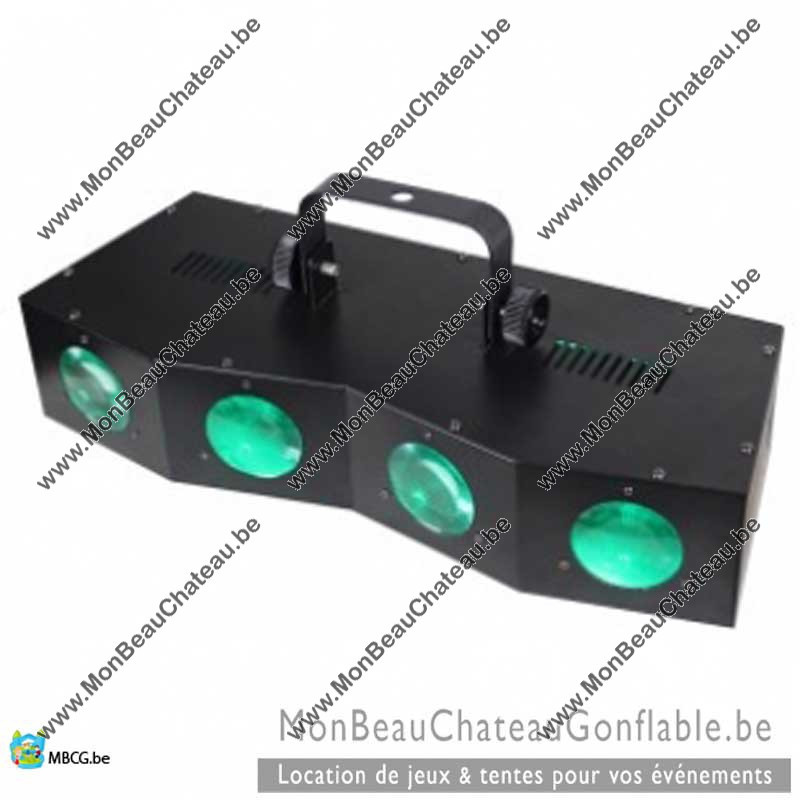 Barre Lumineuse Beamz 4 led moonflower