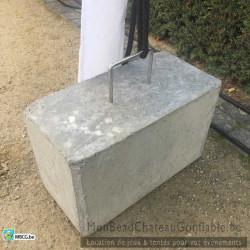 Lestage / poids en béton 45 kg