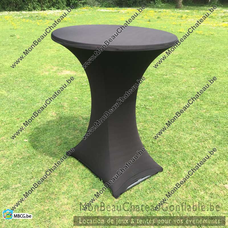 Nappe Table de bar haute, Mange debout
