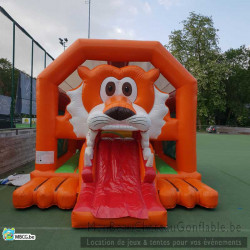 Le Fox - chateau gonflable - Livré