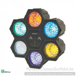 Led Party Ligh - Spot Led de soirée multicolor - location