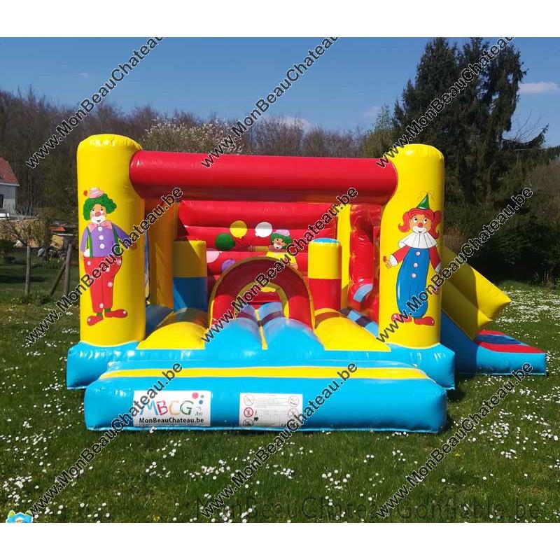 Location chateau gonflable pour anniversaire - Livré - Belgique - MBCG