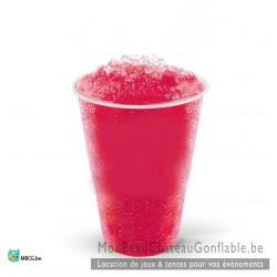 Liquide pour Granita prêt à l'emploi goût Framboise - vente