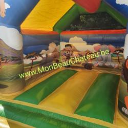 Le château gonflable Safari