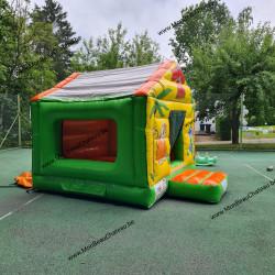 petite maison gonflable à louer