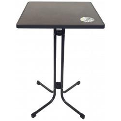 à louer, table haute avec plateau carré