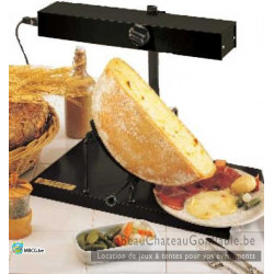 "Appareil Raclette Traditionnel ""1/2 roue"""