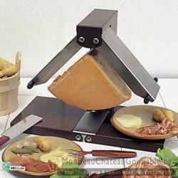 Appareil raclette traditionnel breziere quart de roue - location