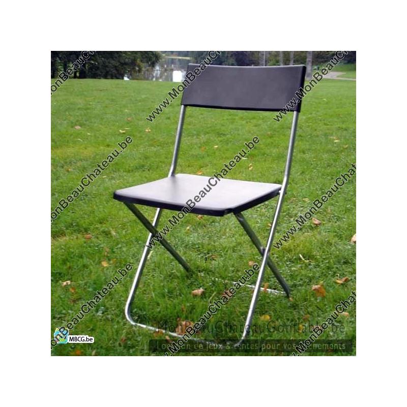 Location de chaises ikea pliantes pas cher sur bruxelles - Chaise pliante pas cher ikea ...