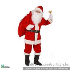 Costume Père Noël Luxe -...