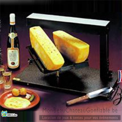 Appareil raclette traditionnel breziere Double - location