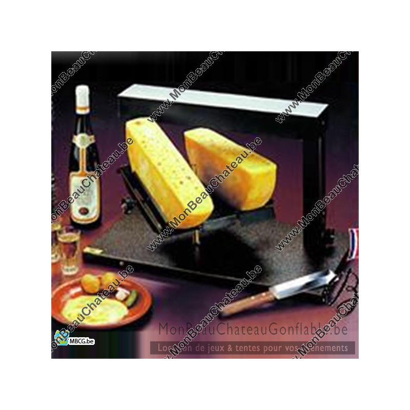 Appareil raclette traditionnel breziere Double