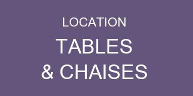 location de table pliantes, chaises, mange debout, table pliante, table de brasserie, chaise de jard