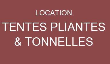 location de tentes, chapiteaux, barnums, tonelles