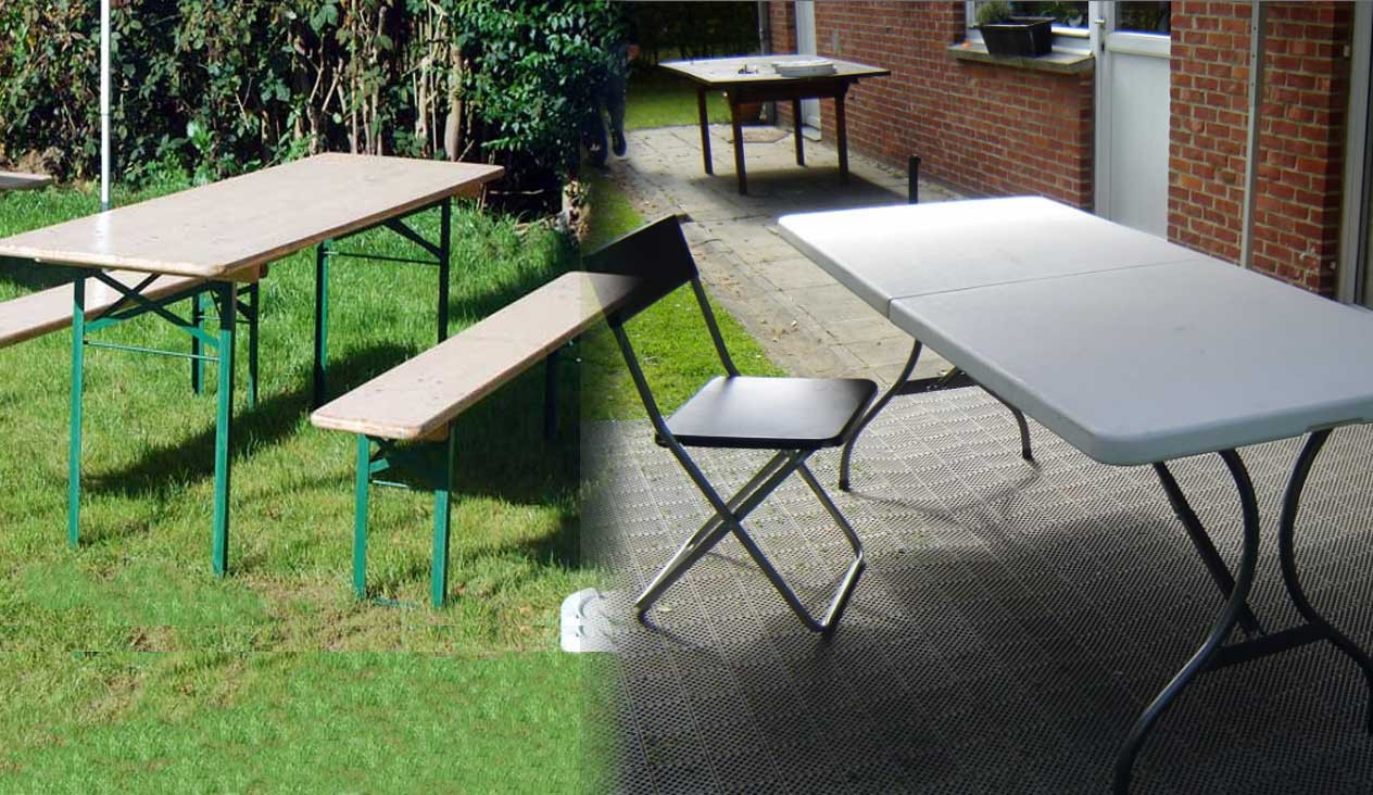 LOCATION DE TABLES & CHAISES